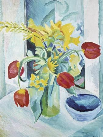 Still Life with Tulips, 1912 by August Macke