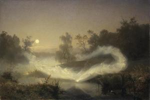 Dancing Fairies, 1866 by August Malmstrom