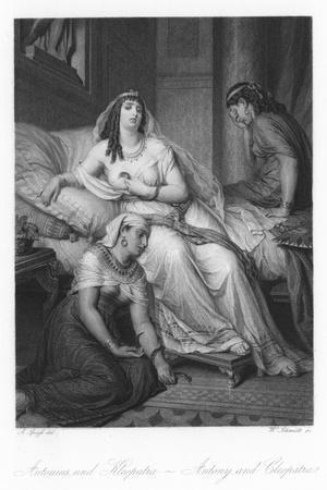 Scene from Antony and Cleopatra