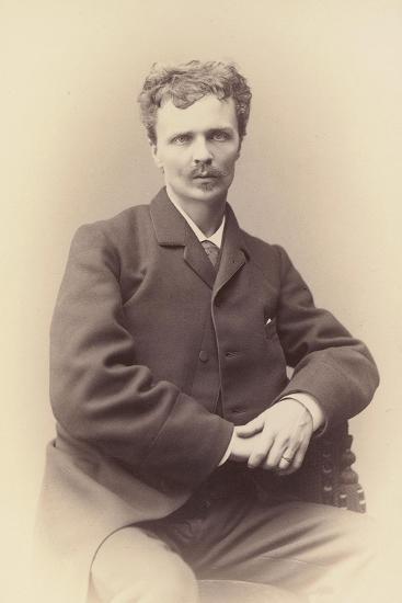 August Strindberg-Gösta Florman-Photographic Print