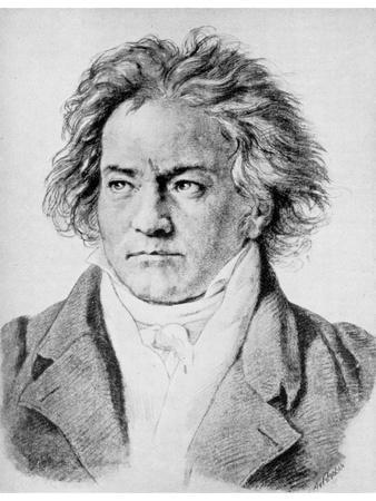Ludwig Von Beethoven, German Composer, C1818-1822