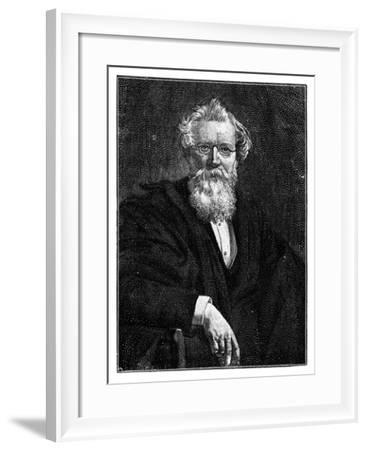 August Wilhelm Von Hofmann, 19th Century German Organic Chemist--Framed Giclee Print
