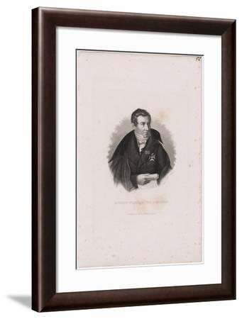 August Wilhelm Von Schlegel (1767-184)-Carl Mayer-Framed Giclee Print