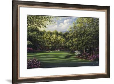 Augusta, Amen Corner-Joe Sambataro-Framed Art Print