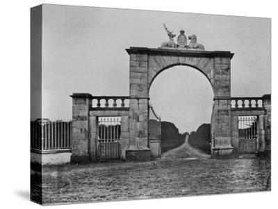 The Lion Gate at Mote Park, the Crofton Family Home, C.1859