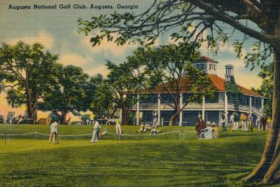 Augusta National Golf Club House, 1943--Giclee Print
