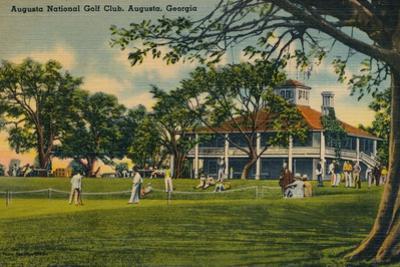 Augusta National Golf Club House, 1943