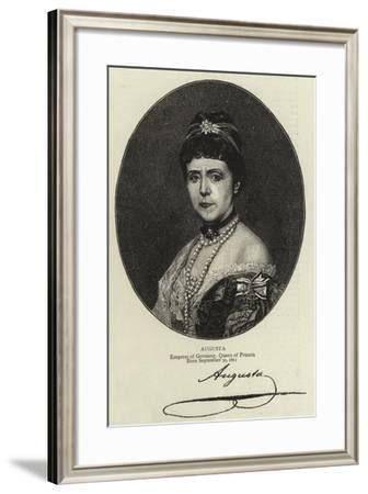 Augusta--Framed Giclee Print