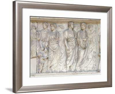 Augustae Ara Pacis, Built Between 13 B.C. and 9 B.C. to Celebrate Peace of Augustus--Framed Giclee Print