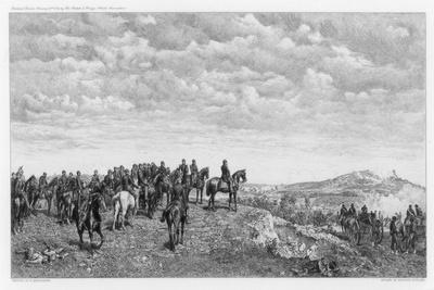 Napoleon III at Solferino, C1880-1882