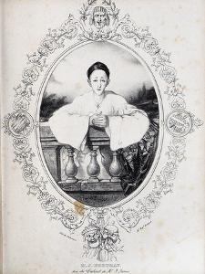 Jean-Gaspard Deburau as Pierrot, 1845 by Auguste Bouquet