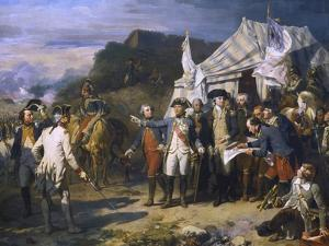 Siege of Yorktown, 1781 by Auguste Couder