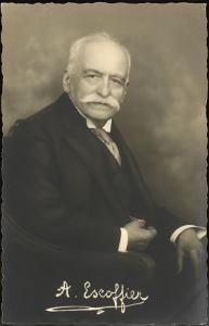 Auguste Escoffier French Chef