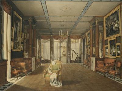 Vue de Salon de musique de Joséphine