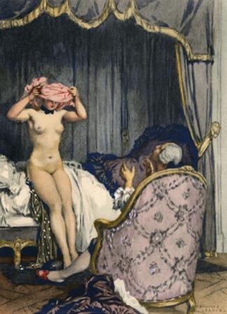 Casanova, Leroux, Baret by Auguste Leroux