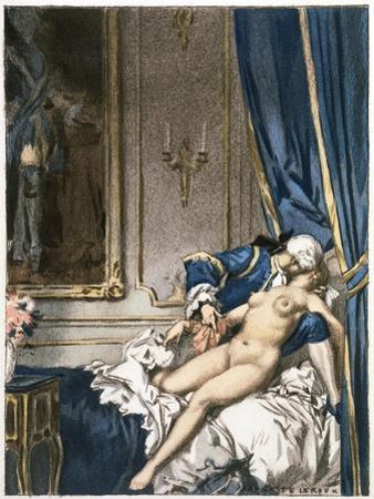 Giovanni Giacomo Casanova Chevalier de Saingalt, with Madame F at Corfu by Auguste Leroux