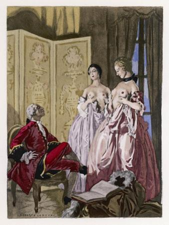 Giovanni Giacomo Casanova Chevalier de Saingalt by Auguste Leroux