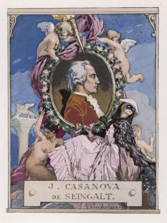 Giovanni Giacomo Casanova Chevalier de Seingalt Italian Adventurer by Auguste Leroux
