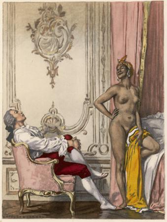 Moroccan Mistress by Auguste Leroux