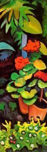 Blumen im Garten (detail) by Auguste Macke
