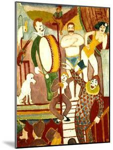 Circus Artists, 1911 by Auguste Macke