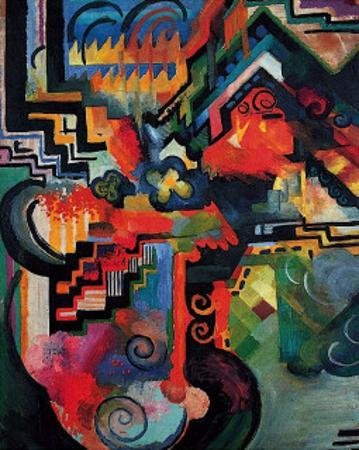 Colored Composition (Hommage a? Sebastin Johann Bach)