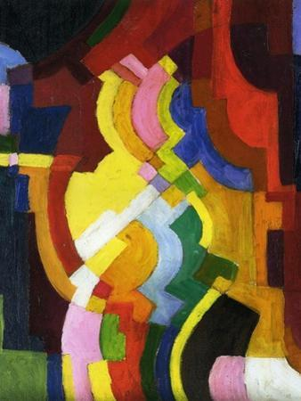Coloured Forms III, 1913