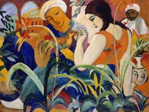 Eastern Women, 1912 by Auguste Macke