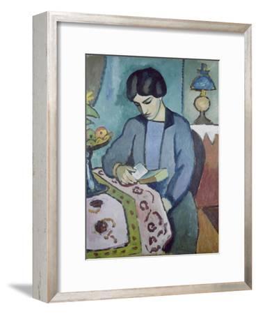 Frau Des Kuenstlers (Studie Zu Einem Portraet), 1912