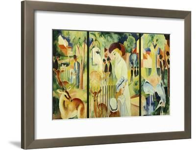 Great Zoological Garden, Triptych, 1912
