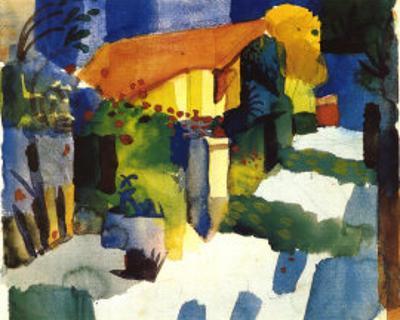 Haus im Garten, 1914
