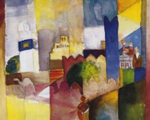 Kairouan III by Auguste Macke