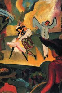 Russian Ballet by Auguste Macke