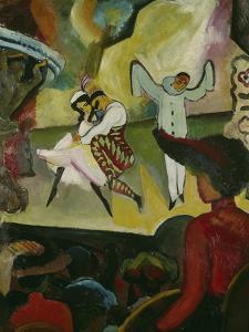 Russian Ballett I., 1912 by Auguste Macke