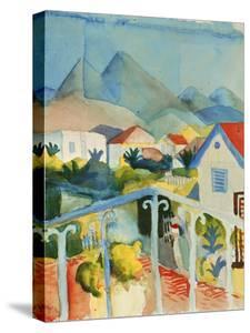Saint Germain Near Tunis, 1914 by Auguste Macke