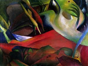 The Storm, 1911 by Auguste Macke