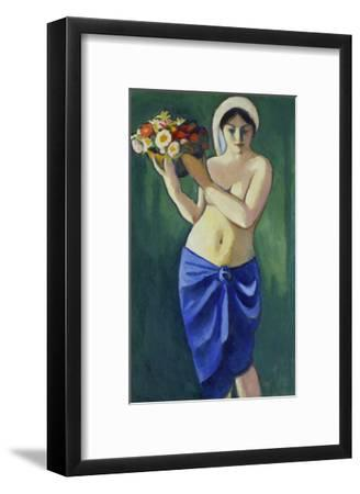 Woman Holding a Jardiniere, 1910