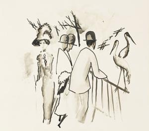 Zoological Garden II by Auguste Macke