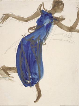 Cambodian Dancer, c.1906