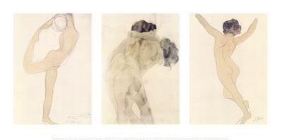 Dancing Figure, the Kiss, the Woman by Auguste Rodin
