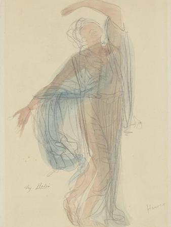 Danseuse by Auguste Rodin