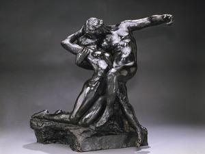 Eternal Spring, Bronze, Premier et at Cast 1924 by Auguste Rodin