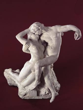 Rodins The Eternal Idol Sculpture, a souvenir of France