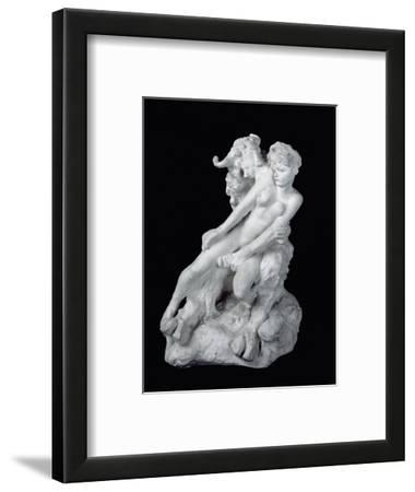Faun and Nymph, C.1886 (Plaster)