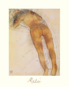 Femme Nue A Plat Ventre by Auguste Rodin