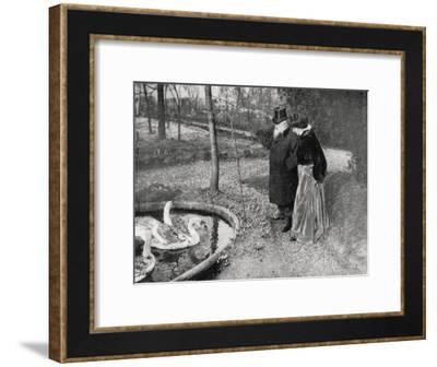 Auguste Rodin, French Sculptor, 1895--Framed Giclee Print