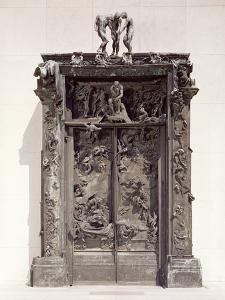 Gates of Hell, C.1890 (Bronze) by Auguste Rodin