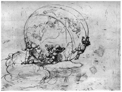 L'Amour Conduisant Le Monde, C1860-1910 by Auguste Rodin