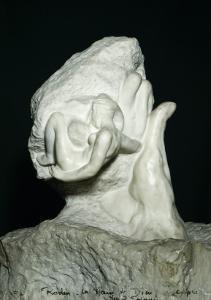 La main de dieu ou la création. Le couple by Auguste Rodin