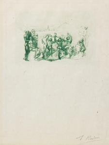 La Ronde, C. 1883-1884 by Auguste Rodin